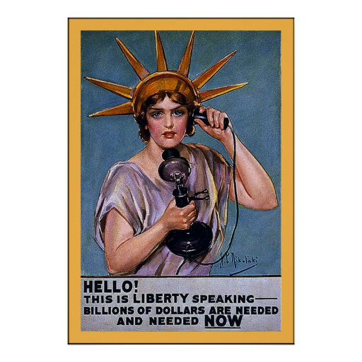 Hello! This is Liberty~Vintage World War 1 Posters