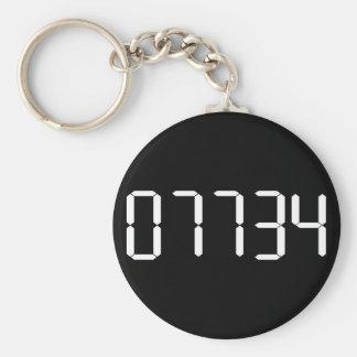 HELLO - Upside-down Calculator Word KEYCHAIN