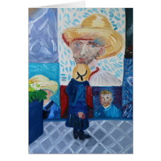 Hello Van Gogh Card