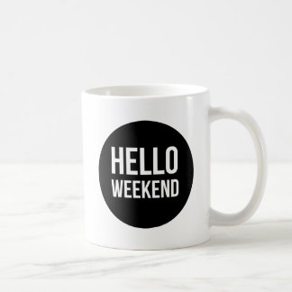 Hello Weekend Mug