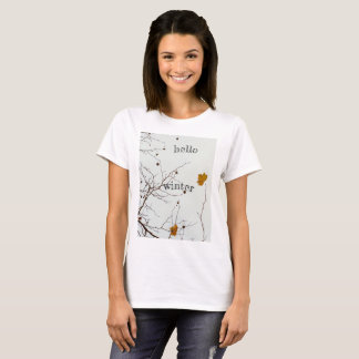 Hello Winter Rustic T-Shirt