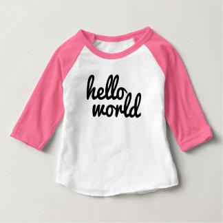 Hello World Baby T-Shirt