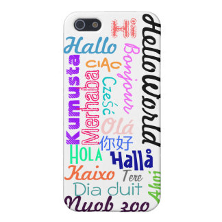 Hello World iPhone 5 Cover
