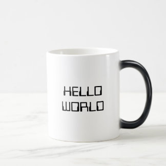 Hello World Magic Mug