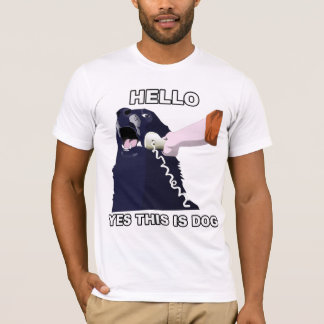 Hello? Yes This Is Dog T-Shirt