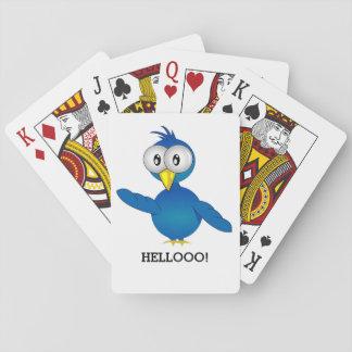 HELLOOO ! BIRD! PLAYING CARDS