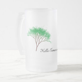 hellow tomorrow mug