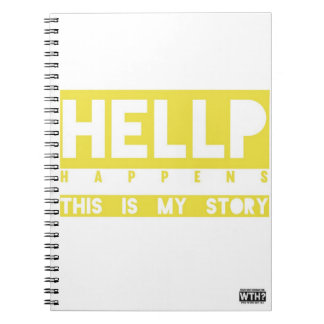 HELLP Happens (yellow) Note Book
