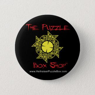 Hellraiser Puzzle Box 6 Cm Round Badge