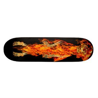Hell's Fire Skate Board Deck