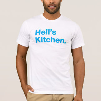 Hell's Kitchen (cyan) T-Shirt