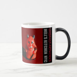 HELLS KITCHEN DEVIL NYC MAGIC MUG