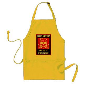 "Hells Kitchen ""Enter at own risk"" Apron"