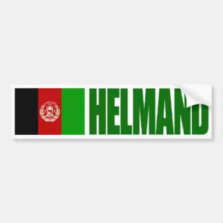 Helmand - Afghanistan Flag Bumper Sticker