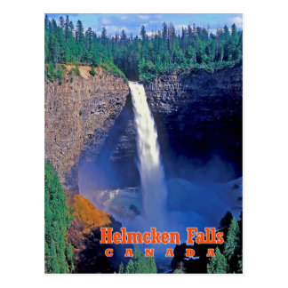Helmcken Falls, British Columbia, Canada Postcard