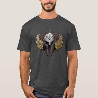 Helmet and wings shirt