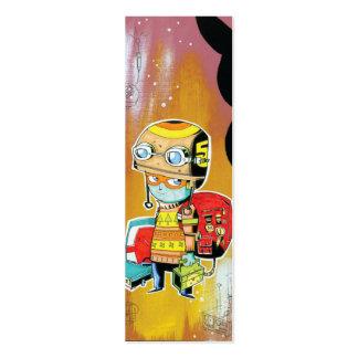Helmet Boy Profile Card Pack Of Skinny Business Cards
