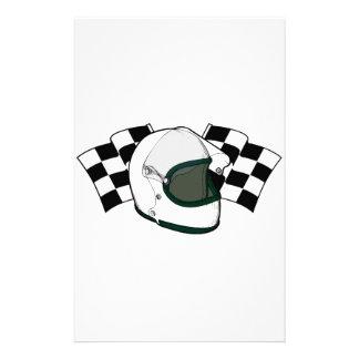 Helmet & Flags Stationery