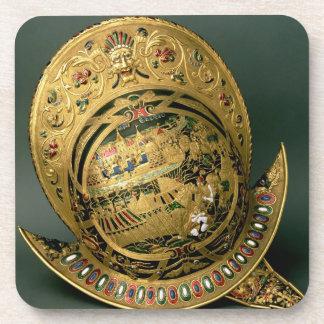 Helmet of Charles IX (1550-74) 16th century (gold Coasters
