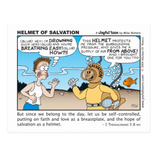 Helmet of Salvation postcard