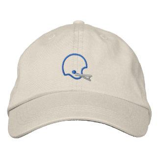 Helmet Outline Embroidered Baseball Caps