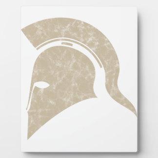 helmet plaque