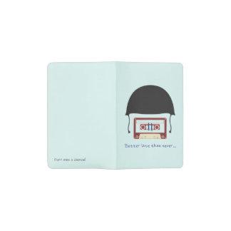 Helmet pocket notebook