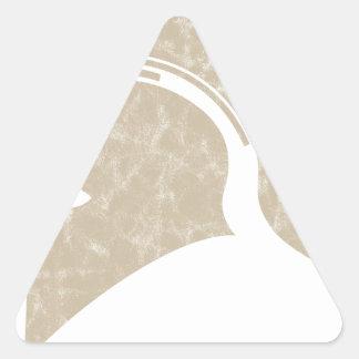 helmet triangle sticker