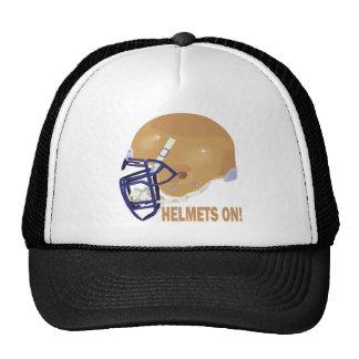 Helmets On Hats