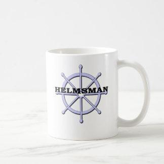 Helmsman Ship Wheel Mugs