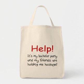 Help Bachelor Party Bag