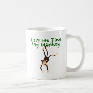 Help Find My Monkey Coffee Mug