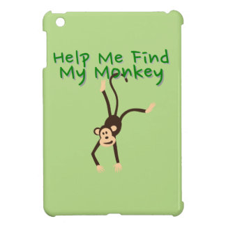 Help Find My Monkey iPad Mini Cover