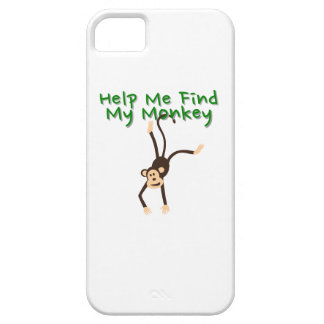 Help Find My Monkey iPhone 5 Case