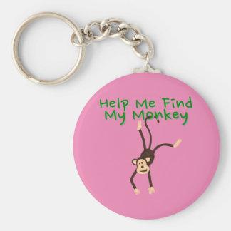 Help Find My Monkey Key Ring