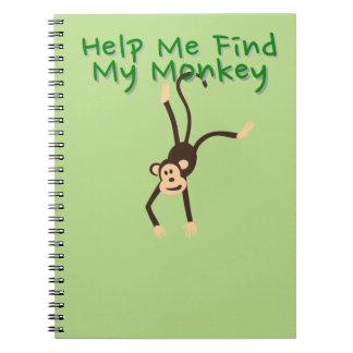 Help Find My Monkey Notebooks