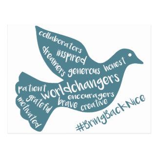 Help grow the movement to #BringBackNice! Postcard