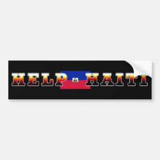 HELP HAITI BUMPER STICKER