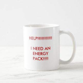 HELP!!!!!!!!!!!I NEED AN ENERGY PACK!!!! COFFEE MUG