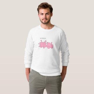 help i swallowed a train sweatshirt