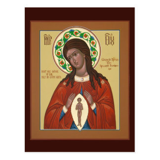 Help In Giving Birth Mother Of God Prayer Card