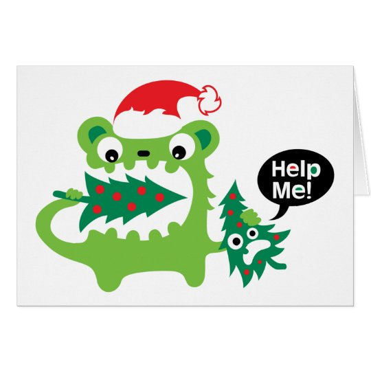 Help Me  Christmas card