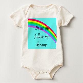 Help me follow my dreams -  Baby Onsie Baby Bodysuits