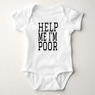 HELP ME IM POOR BABY BODYSUIT