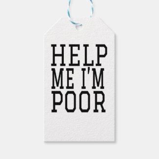 HELP ME IM POOR GIFT TAGS