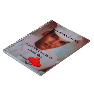 Help Me Say Good Bye TWO Hearts Notebook