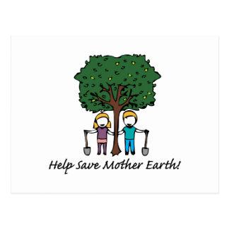Help Mother Earth Postcard