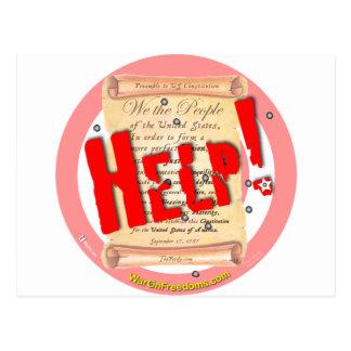 Help Postcard