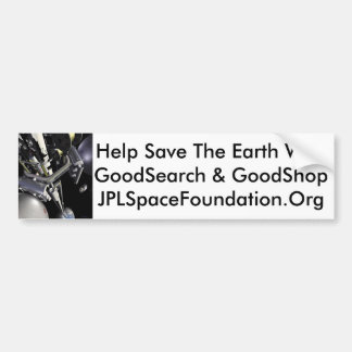 Help Save The Earth Bumper Sticker