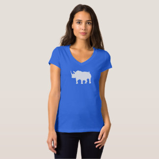 Help save the rhinos womans shirt